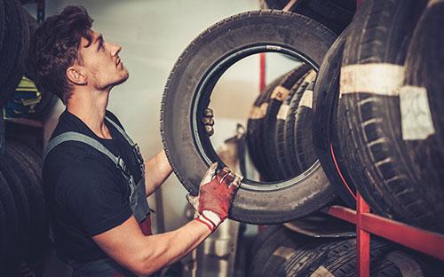 Reifen Räder Montage Service Autohaus Adler