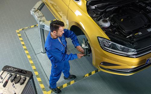 VW Audi Service Vertragspartner Authohaus Adler